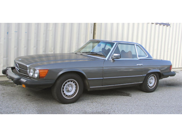 Property from the estate of Lawrence Masnada, San Francisco,CA,1977 Mercedes-Benz 450SL  Chassis no. 107.044 12 043713