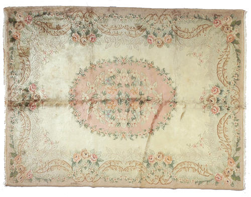A Spanish Savonnerie style carpet Size approximately 7ft 5in x 9ft 10in
