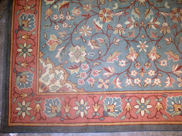 A European carpet Size approximately 8ft 10in x 9ft