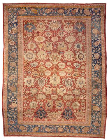 A Sultanabad carpet Central Persia, Size approximately 11ft x 14ft 3in