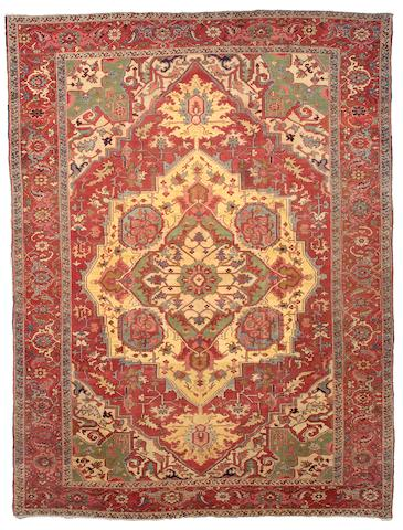 A Serapi carpet Northwest Persia, Size approximately 9ft 8in x 12ft 10in