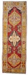 An Oushak rug West Anatolia,