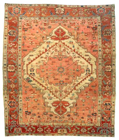 A Serapi carpet Northwest Persia, Size approximately 11ft 7in x 14ft 3in