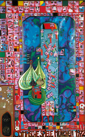 Friedensreich Hundertwasser; Olympic Games Munich;