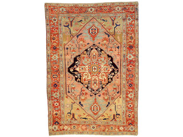 A Serapi carpet Northwest Persia, Size approximately 8ft 8in x 12ft 6in