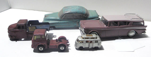 A lot of 20th century cars
