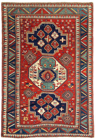 A Kazak rug Caucasus, Size approximately 5ft 8in x 8ft 3in