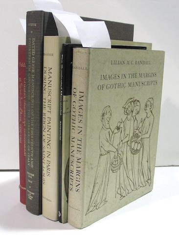 ILLUMINATED MANUSCRIPTS - REFERENCE. 14 volumes.