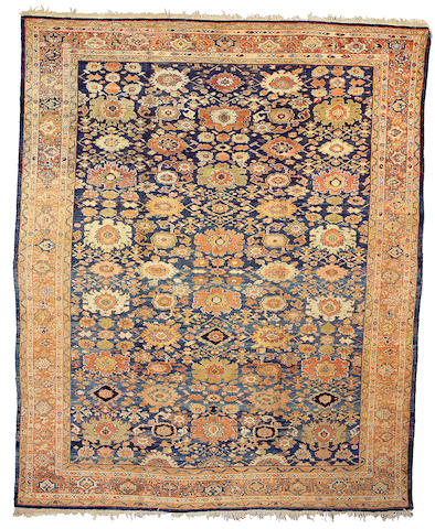A Sultanabad carpet Central Persia, Size approximately 8ft 10in x 13ft 2in