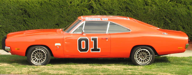 "1969 Dodge Charger ""The General Lee""   The Dukes of Hazzard  Warner Brothers, 1979-1985."