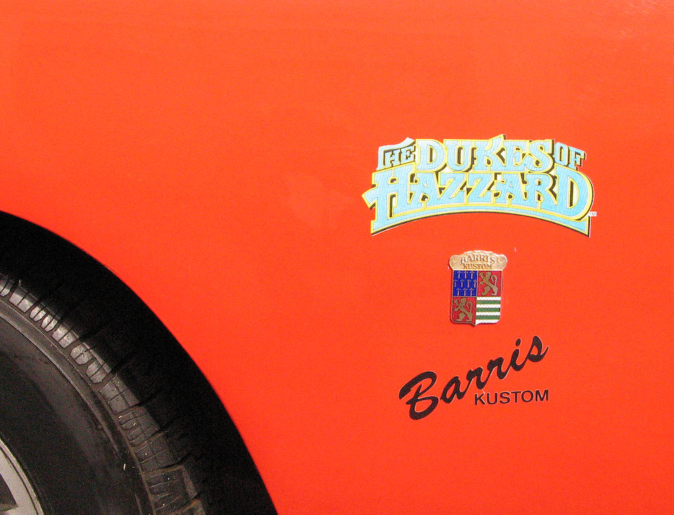 """1969 Dodge Charger """"The General Lee""""   The Dukes of Hazzard  Warner Brothers, 1979-1985."""