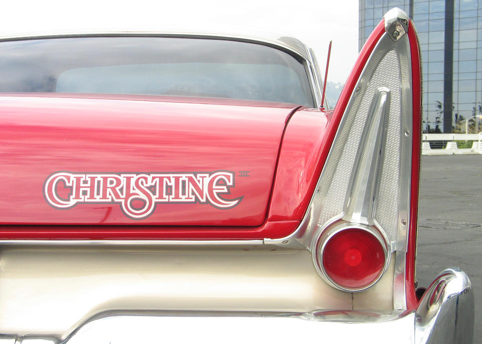 1958 Plymouth Fury  John Carpenter's Christine Columbia, 1983.
