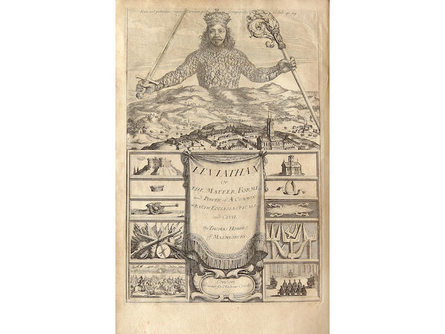 HOBBES, THOMAS.  1588-1679.