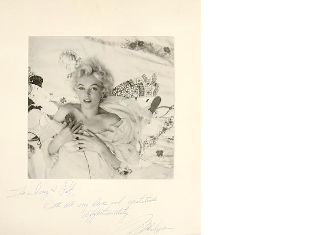 MONROE, MARILYN, and [BEATON, CECIL, SIR.  1904-1980].