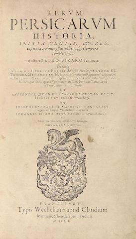 BIZARI, PIETRO.  C.1530-1586.