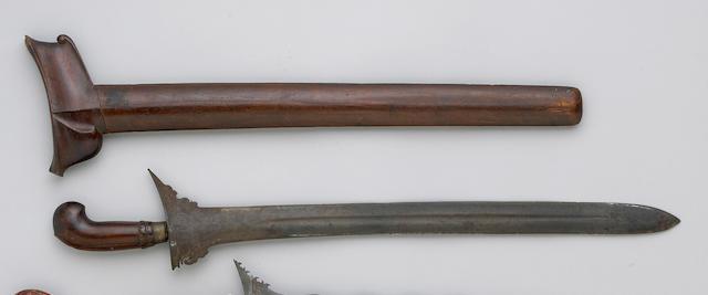 A Sumatran 'executioner's' keris