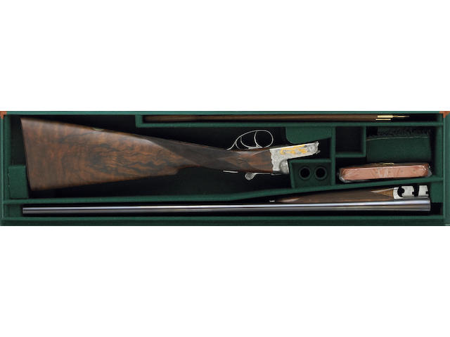 **A 20 gauge Holland & Holland Cavalier Deluxe Model Upland Bird Special Edition boxlock ejector dou
