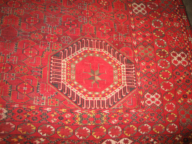 An Afghan Bashir carpet Size approximately