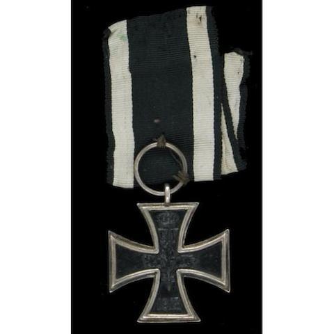 A Prussian 1813 Iron Cross 2nd class
