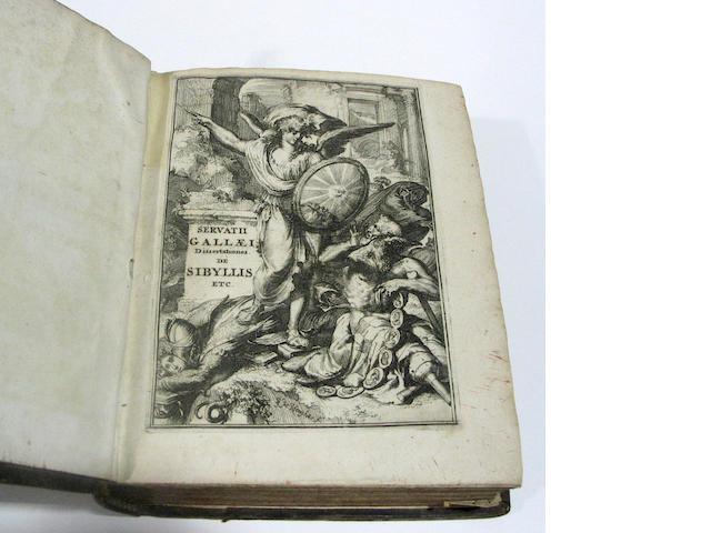 GALLAEUS, SERVATIUS.  1627?-1709.