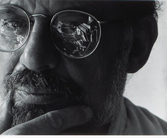 Arnold Newman; Allen Ginsberg, NYC;