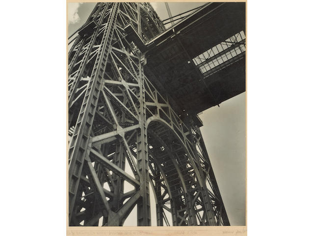 Berenice Abbott; George Washington Bridge;