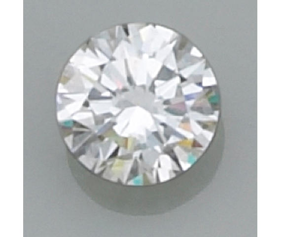 An unmounted diamond,