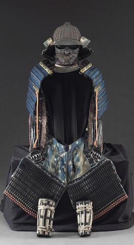 A partial <i>tosei gusoku, Edo Period</i>