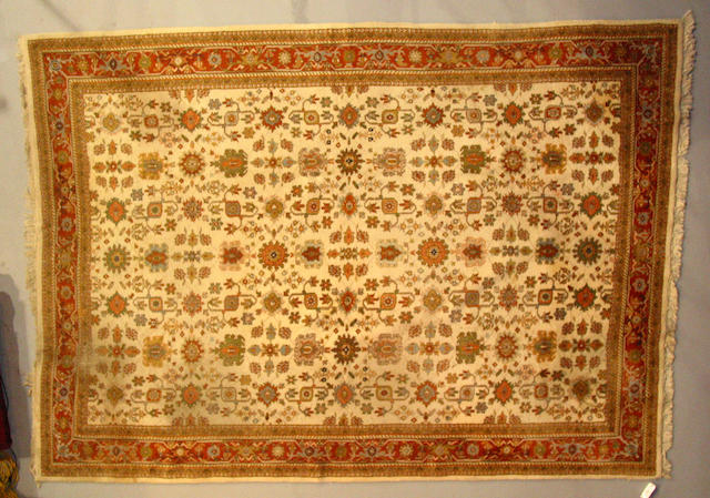 An Indo-Tabriz carpet