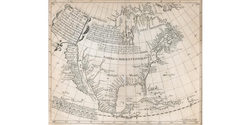 Briggs, Henry.  The North Part of America. [London: 1625].