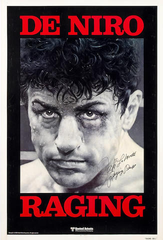 Raging Bull advance signed