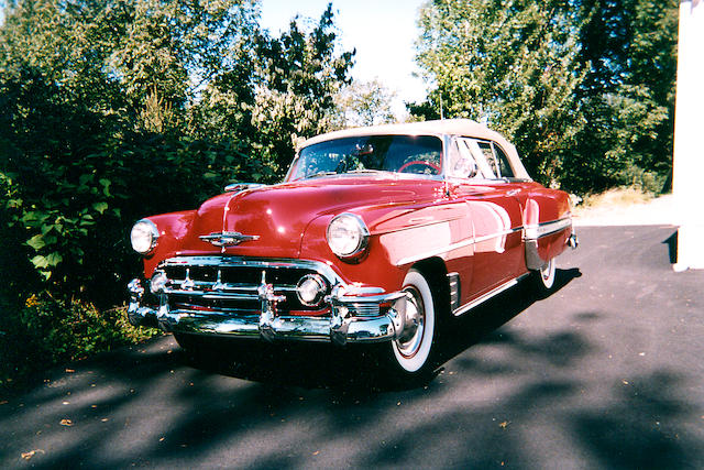 1953 Chevrolet Bel Air Convertible  Chassis no. C538088834