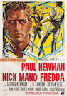 Cool Hand Luke [Nick Manno Freddo]1968, ori. IT 4 folio, 55x78, A-, on linen