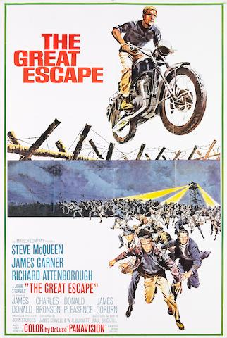 The Great Escape, 1963, one sheet