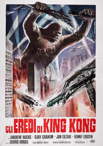 Gli Eredi di King Kong Italian four sheet