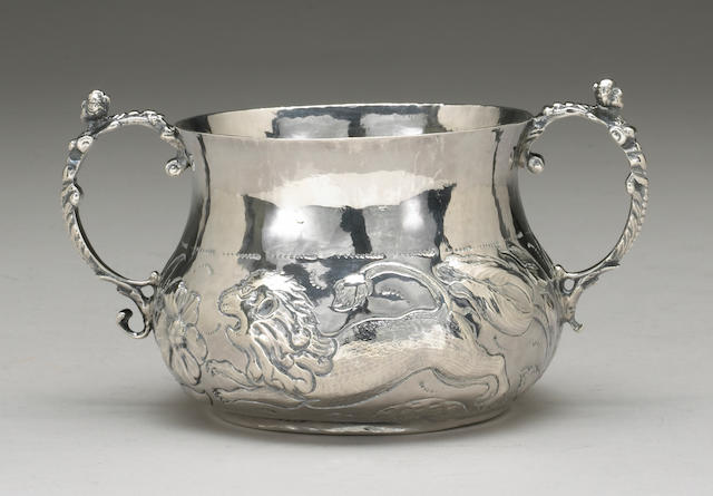 Charles II Silver Porringer
