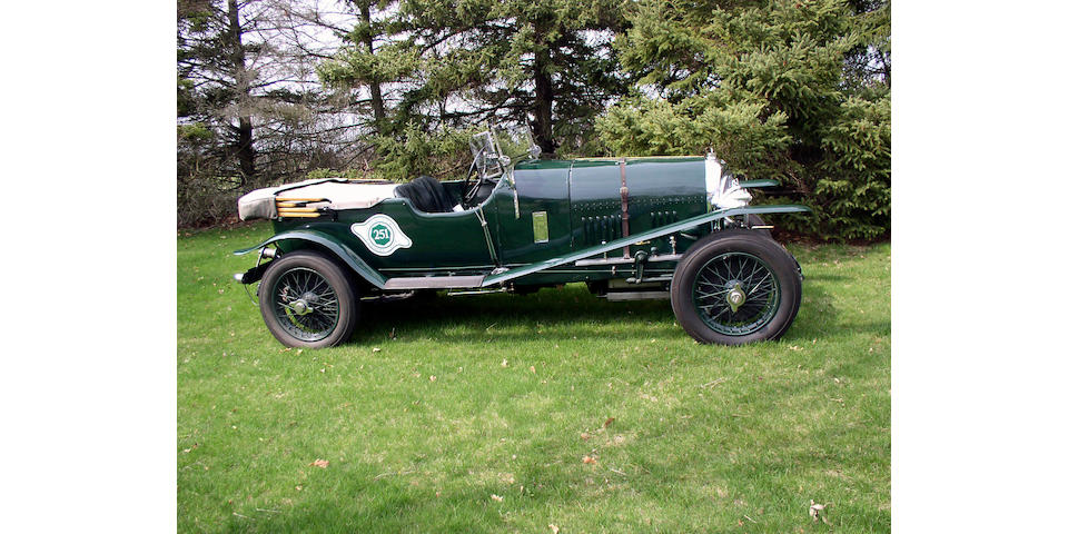 1923 Bentley 3-Liter Short Chassis Sports Open Tourer  Chassis no. 332 Engine no. 337