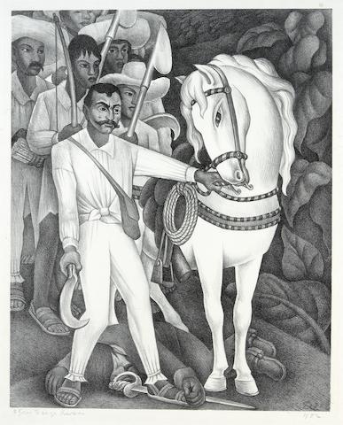 Diego Rivera; Emiliano Zapata;