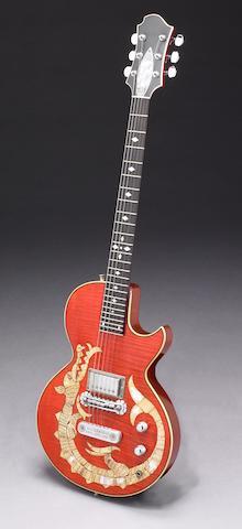 "A Zemaitis Custom ""Dragon"" electric guitar owned by the Pretenders James Honeyman-Scott"
