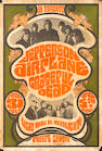 A Jefferson Airplane and Grateful Dead concert poster