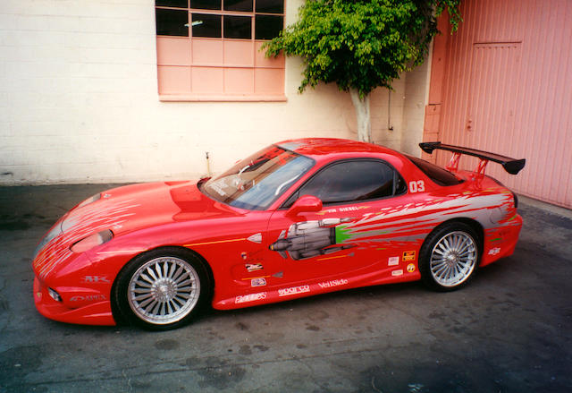 Bonhams : 1993 Mazda RX7 The Fast & The Furious Universal, 2001.