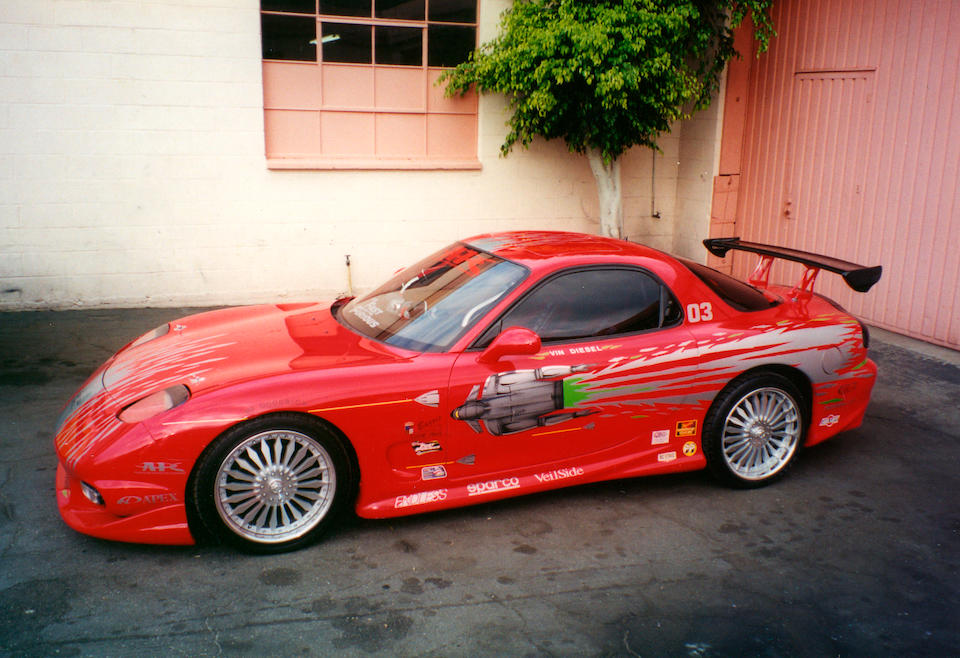 Bonhams : 1993 Mazda RX7 The Fast & The Furious Universal, 2001.