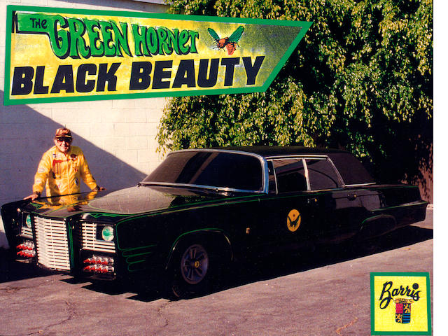 A 1966 Chrysler Imperial, <i>Black Beauty</i> from <i>The Green Hornet</i>,ABC, 1966-67.