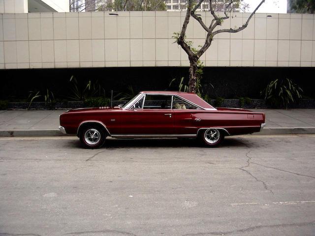 1967 Dodge Coronet RT 426 Hemi  Chassis no. WS23J