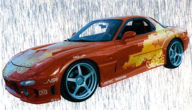 1993 Mazda RX7 2Fast 2Furious Universal 2003