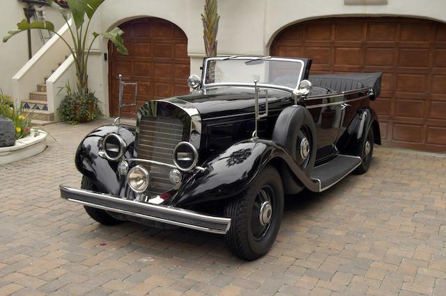 1933 Mercedes Benz Replica   Rat Race  Paramount, 2001