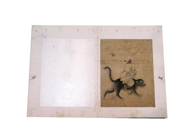 Zhu Gao (18th Century): Studies of Zhong Kui