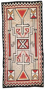 A large Navajo rug, 15ft 8in x 7ft 7in