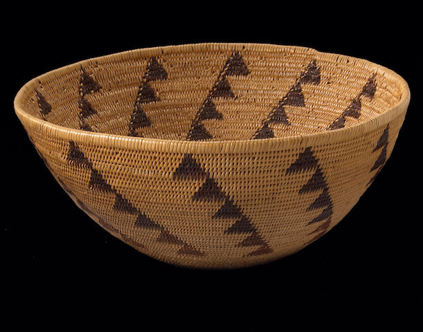 A Washo polychrome basket: Dat-so-la-lee