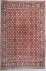 A Veramin carpet Central Persia Size approximately 10ft 4in x 6ft 10in